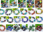 Lot Mix Lampwork Handmade Murano Glass Large Hole Bead Fit DIY Jewelry Craft Hot