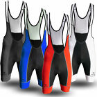 Deko Bib Shorts with Pro G-Tex Long Ride Pad in Black Red, White, Grey & Blue