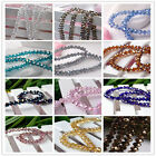 30 Colors (AB) 100pcs Faceted Rondelle Crystal Loose Beads 4X6mm 5040