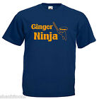 Ginger Ninja Ginger Hair Children's Kids T Shirt