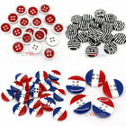 Free Ship Wholesale 100pcs Acrylic Flatback Buttons Fit Sewing ﹠Scrapbook 10mm