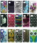 Design Hard Cover Snap on Case Accessory For LG Optimus F3 LS720