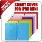 Ultra Thin Magnetic Smart Case Cover Stand + Back Cover For iPad mini