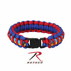 New Autism Awareness Paracord Bracelet -Blue Red Yellow Aqua- 3 Sizes Available!