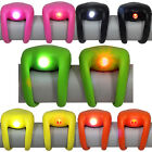 Rubber Wrap Around Cycle Lights LED Silicone Set Pair Front Rear Scooter Bike