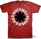 Red Hot Chili Pepers Black Asterisk Licensed Adult Shirt S-XXL