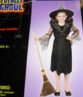 Spider Countess Witch Girl Costume Dress NWT M Lg