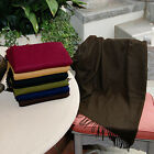 Winter Warm Cozy Polyester Faux-Cashmere Throw Blanket - Retail Packaging