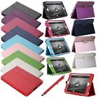 Magnetic Slim Leather Wake Sleep Case Stand Cover + Pen For Apple iPad Mini 7.9""