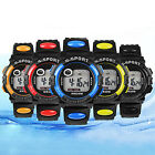5 Colors Men Unisex Sports Digital LED Quartz Alarm Day Date Wrist Watch BD1U