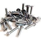 M2.5 (2.5mm) A2 STAINLESS SLOTTED CHEESE HEAD MACHINE SCREWS, SLOT SCREW DIN84