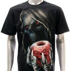 r131 M L XL XXL XXXL Rock Eagle T-shirt Tattoo Glow in Dark Poison Apple Grim