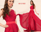 eDressit Red One Strap Evening Dress Prom Ball Gown US 4-US 18 SKU 00131502
