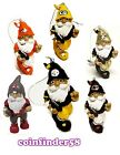 NFL Football Gnome Holiday Christmas Tree Ornament - Assorted Teams
