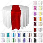 30cm x 275cm silk-like satin table runner wedding party banquet venue decoration