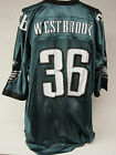 NEW Mens REEBOK Philadelphia EAGLES Brian WESTBROOK #36 Green Football Jersey