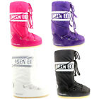 WOMENS ORIGINAL MOON BOOTS NYLON WATERPROOF SKI SNOW WINTER BOOTS LADIES 3-8