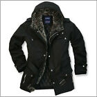 Men Cotton Coat Winter warm Parka Padded Jacket Faux fur Ling Overcoat #6