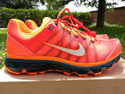 Nike Air Max 2009 486978-800 Total Crimson Orange Black Rare Shoes Size 8 US New