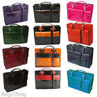 Giglio Classic Unisex Italian Hand Crafted Cowhide Leather Document Briefcase