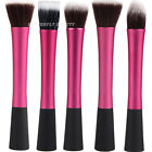 New Pro Powder Blush Brush Cosmetic Stipple Foundation Pink Brush Makeup Tool