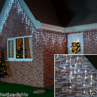5M 192 LED INDOOR AND OUTDOOR CHRISTMAS/PARTY CONNECTABLE ICICLE LIGHTS