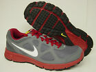 NEW Mens Size 8.5 NIKE Revolution 488183 015 Cool Grey Red Sneakers Shoes