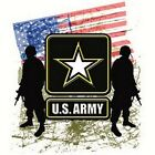 NEW~USA~~US ARMY~SOLDIERS~~FLAG~~WHITE_T-SHIRT~~LS/SS~~S-3XL~~SUPPORT OUR TROOPS