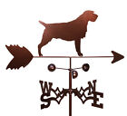 Hand Made WIREHAIRED POINTING GRIFFON DOG Weathervane