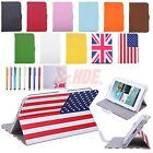 """Universal 7"""" Inch Android Tablet Case Folio PU Stand Leather Folding Flip Cover"""