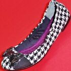 NEW Women's SIMPLY VERA MADISON Black Bow Slip on  Flats Fashion Casual  Shoes