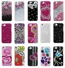 For Apple iPhone 5C Mini LITE Cover Bling Diamond Rhinestone Hard Case