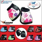 NEW PROFESSIONAL CHOICE NO-TURN SECURE-FIT OVERREACH BELL BOOTS HORSE LARGE MED