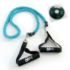 66fit SAFETY TPR EXERCISE TUBE & DVD