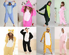 Unisexo Adulto Cosplay Kigurumi Animal Costume Sleepsuit Pijamas Multi- picture