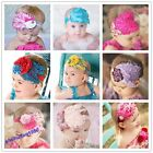 1Pc Baby Girl Kids Infant New Lovely Feather Headband Hair Band Flower Hair Band