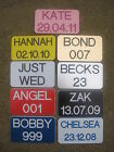 Little Tikes Cozy Coupe Personalised Number Plates- Xmas Presents