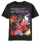 Mad Engine Transformers Battle Station Men's Tee Shirt Black S-2X