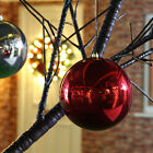 GIANT LARGE 25CM 30CM COMMERCIAL CHRISTMAS XMAS TREE HANGING DECORATION BAUBLE