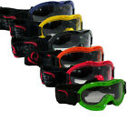 Childrens GOGGLES kids MOTOCROSS Enduro Motorcross Helmet by Qtech Age 3-8