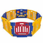 Baby Playpen Kids 8 Panel Safety Play Center Yard Home Indoor Outdoor New Pen