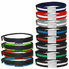 Belts URBAN CLASSICS Woven College 2-Tone Belts 2 Styles 16 Colours