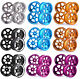 4PCS Metal Aluminum Wheel Rim For RC 1:10 On Road Model & Drift Car tires tyres