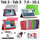 """Pack Accessoire Housse Protection Tablette Samsung Galaxy Tab 7.0 8.0 10.1 10"""""""