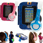 Ultimate Addons Leather PU Case with Stand and Headphones for vTech InnoTab 3