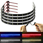 Latest 4 x 30cm 15 LED Car Trucks Moto Grill Waterproof Light Strips 4 Colors