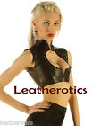 Genuine Leather Back Lacing Vest Top Sleeveless Fetish Rocket Corset Bodice