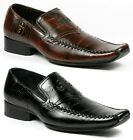 Delli Aldo Mens Slip on Loafers Dress Classic Shoes w/ Leather lining M-18522