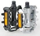 """Cycling Road MTB Bike Bicycle Aluminum alloy Pedals 9/16"""" Axle Foot Tread New"""