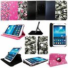 "Samsung Galaxy Tab 3 T310 8"" 8 Inches Tablet 360 Degree Rotation PU Leather Case"